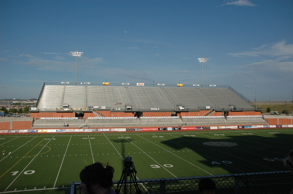 The Stands on the East Side